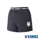 K-SWISS Ks Waist Band Sweat Shorts棉質短褲-女-黑