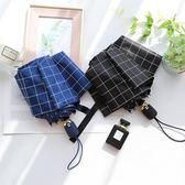 雨傘兩用黑膠ins防曬防紫外線太陽傘 鹿角巷