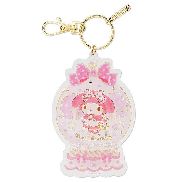 【震撼精品百貨】My Melody 美樂蒂~鑰匙圈-水晶球