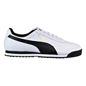 PUMA Roma Basic 男女款白色復古皮革休閒鞋-NO.35357204