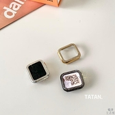 iwatch蘋果手表閃鉆保護殼電鍍保護套【極簡生活】