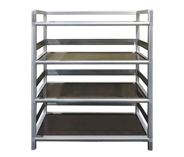多功能組合櫃 四層收納架 三尺櫃 3尺櫃 收納盒 置物架 收納架 收納櫃 置物櫃 鋁櫃 DIY