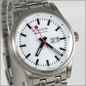 【萬年鐘錶】MONDAINE 瑞士國鐵 41mm鋼錶 XM-669816M