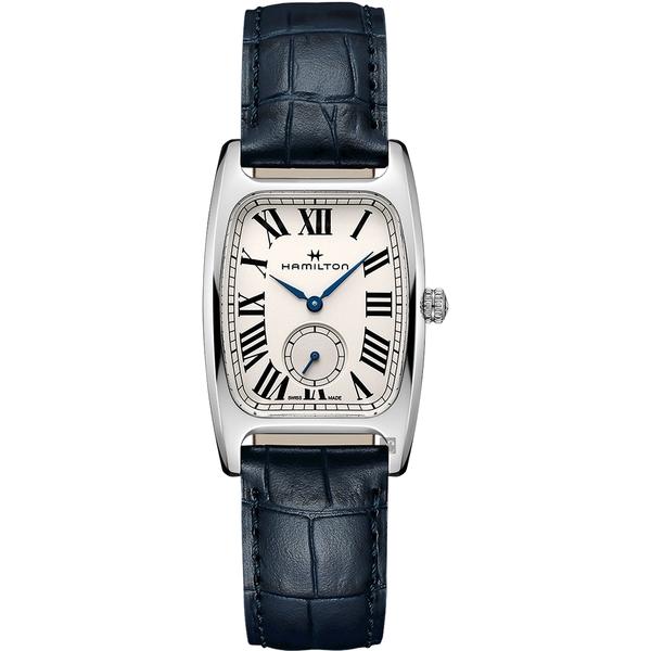 Hamilton 漢米爾頓 美國經典 柏登系列石英錶-藍(H13421611)