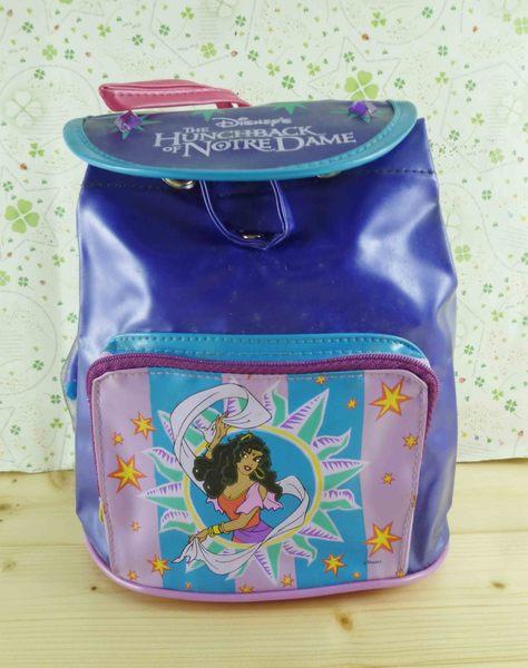 【震撼精品百貨】Disney 迪士尼公主系列~鐘樓怪人後背包-女主角(S)