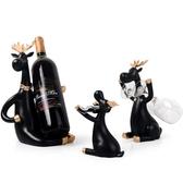 红酒架 創意紅酒架擺件家用酒櫃裝飾品酒瓶收納架葡萄酒架擺件酒杯架倒掛 星河光年DF