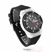 范倫鐵諾Valentino 粗曠螺絲造型不鏽鋼手錶 精品腕錶 星期.日期窗顯示 柒彩年代【NE1658】原廠貨