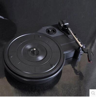 食尚玩家 仿古留聲機LP黑膠唱片機唱機復古電唱機老式電唱機擺件包郵