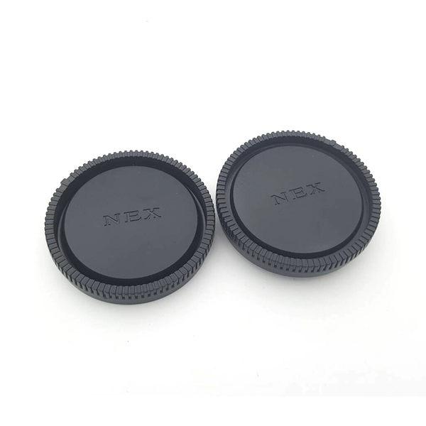 黑熊館 SONY NEX系列機身鏡頭蓋組 機身前蓋+鏡頭後蓋 LR9 NEX3 NEX5 NEX7 NEX6