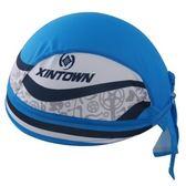 自行車頭巾 抗紫外線-獨特雙色拚色設計男女單車運動頭巾73fo48[時尚巴黎]