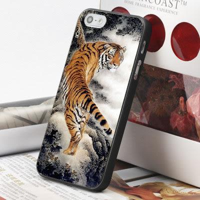 [ 機殼喵喵 ] [現貨] Apple iPhone 6 (4.7吋)  手機殼 客製化 外殼 全彩工藝 SZ101 猛虎上山