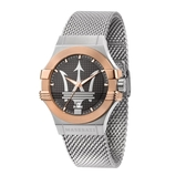 MASERATI 瑪莎拉蒂 POTENZA 米蘭精鍍玫瑰金腕錶42mm(R8853108007)
