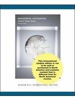 二手書博民逛書店 《Managerial Accounting: With Topic Tackler Plus》 R2Y ISBN:0071117946│RayH.Garrison