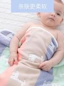新生兒寶寶紗布用品純棉嬰兒抱被春秋冬被子加厚初生包被夏季薄款  麥琪精品屋
