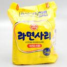 韓國【不倒翁】(OTTOGI)Q拉麵(純麵條) 110g*5入