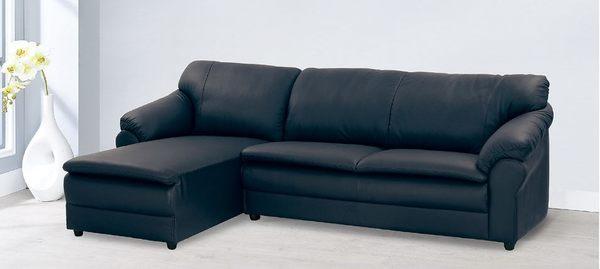 【南洋風休閒傢俱】沙發系列-金沙L型沙發 台灣製皮沙發 貴妃椅沙發 KH38-1
