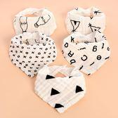 嬰兒三角巾男寶寶圍兜純棉紗布韓版圍兜