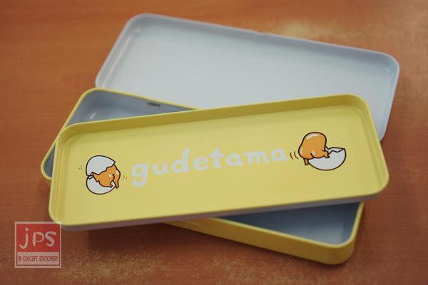 蛋黃哥 寬雙層筆盒 (直條紋Egg)