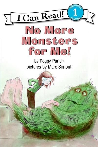 (二手書)An I Can Read Book Level 1: No More Monsters for Me! (Book & CD)..