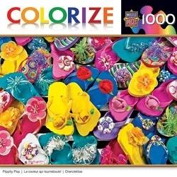 【KANGA GAMES】拼圖 彩色夾腳拖 Colorize - Flippity Flop 1000片