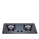 (無安裝)喜特麗【JT-2009A_NG1-X】二口爐檯面爐玻璃黑色(與JT-2009A同款)瓦斯爐天然氣