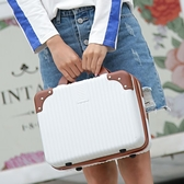 可愛小行李箱14寸便攜手提化妝包迷你收納16寸旅行箱LOGO