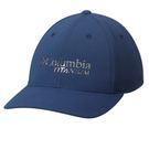 Columbia 男女 鈦-防曬50棒球帽 藍 UCU92290NY【GO WILD】