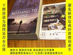 二手書博民逛書店英文原版罕見nothing to loseY181828 Lee