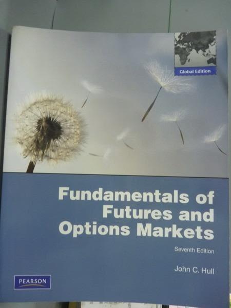 【書寶二手書T3/大學商學_PLZ】Fundamentals of Futures and Options Market
