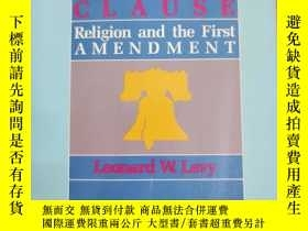二手書博民逛書店英文原版:The罕見Establishment ClauseY367822 Leonard W.Levy 略