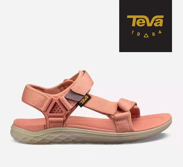 丹大戶外【TEVA】美國 女 Terra-Float 2 UNIVERSAL 運動涼鞋 CORAL SAND 珊瑚橘 1091333CSND