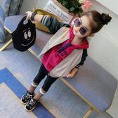 新年大促女童棒球服小童韓版潮衣兒童2018春秋新款洋氣秋裝女寶寶外套童裝 森活雜貨
