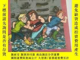 二手書博民逛書店Die罕見drei ??? Kids 03. Invasion