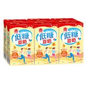 義美低糖豆奶250MLx6【愛買】
