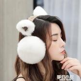 耳罩冬天冬季保暖耳套耳包女生護耳朵耳捂子防凍可愛兒童韓版耳帽 夢幻小鎮