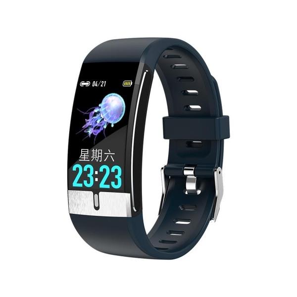 2020新款E66智慧手環測體溫心電圖手環計步監測防水【新年特惠】