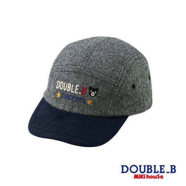 DOUBLE_B 帥氣棒球帽(灰)
