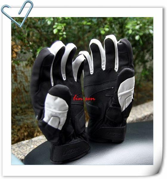 LAZER手套,防摔/防水/防寒手套,HA-3,黑/灰