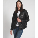 OneTeaspoon 皮夾克 THIS IS NOT A DREAM LEATHER JACKET - 女(黑)