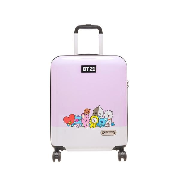 OUTDOOR x BT21 行李箱 19吋 宇宙明星BT21 LINE FRIENDS 全員集合 行李箱 ODBT1980B19 得意時袋