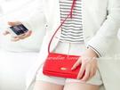 【長款錢包】多功能皮革側背包單肩手機包斜...