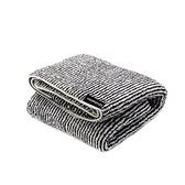 MORINO極超細纖維竹炭條紋浴巾-70x140cm