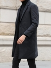 羽絨服  男冬季男士中長款羽絨服潮流韓版輕薄西裝領風衣過膝商務休閒外套厚 【全館八五折】
