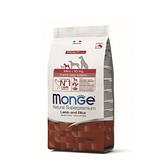 寵物家族-[買就送試吃包x3]MONGE瑪恩吉-天然呵護小型幼犬(羊肉+米)2.5kg