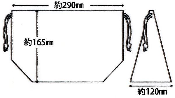 【小福部屋】日本製 (蛋黃哥)SKATER 抽繩便當包 便當袋 托特包 野餐午餐保鮮盒用 【新品上架】