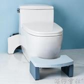馬桶凳腳踏凳兒童孕婦老人廁所蹲坑神器衛生間馬桶墊腳踩凳坐便凳YYJ 港仔會社 免運快出