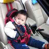 簡易兒童安全座椅便攜式車載坐墊汽車用背帶寶寶安全3-12 0-4歲 卡布奇诺igo