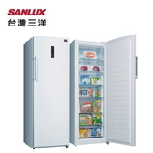 【SANLUX 台灣三洋】直立式冷凍櫃 250L 風扇式自動除霜《SCR-250F》全新原廠保固