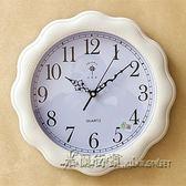 客廳臥室創意掛鐘裝飾個性現代時鐘時尚歐式靜音石英鐘錶【米蘭街頭】igo