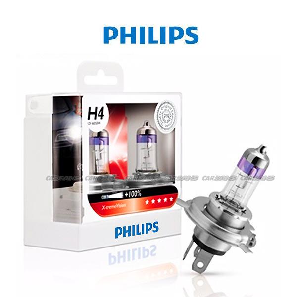 【愛車族】PHILIPS 飛利浦超極光 加亮100%燈泡 (H1.H4.H7. HB4)